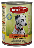 Berkley  Lamb & Rice for Adult Dog 12631