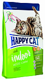 Happy Cat Supreme Adult indoor Пастбищный ягненок