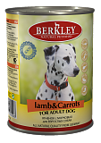 Berkley  Lamb & Carrots Adult Dog 12633