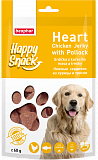 Beaphar Happy Snack Heart Chicken Jerky with Pollock 60 гр.