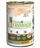 Trainer Fitness3 No Gluten Medium/Maxi Adult Duck and Rice  400 гр.