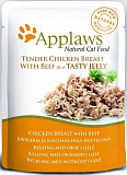 Applaws cat pouch chicken with beef in jelly 70 гр. 24368