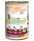 Trainer Fitness3 No Gluten Medium/Maxi Adult Lamb and Rice  400 гр.