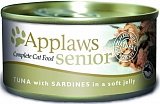 Applaws Senior Cat Tuna with Sardine in Jelly 70 гр. 24345